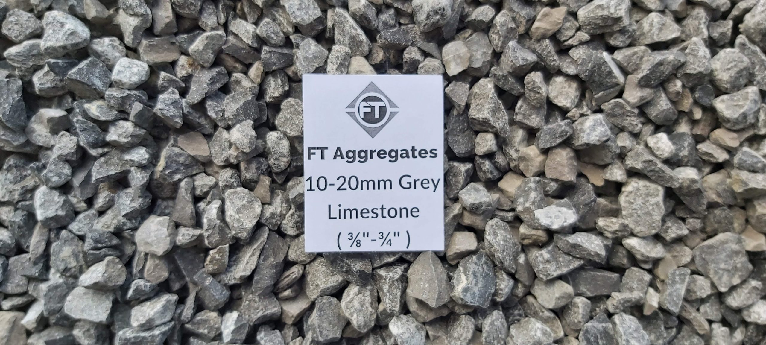 10mm grey limestone
